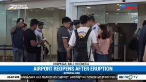 Airport Ngurah Rai Reopened