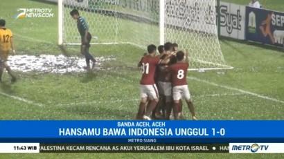 Tundukkan Brunei, Indonesia Start dengan Mulus di Tsunami Cup