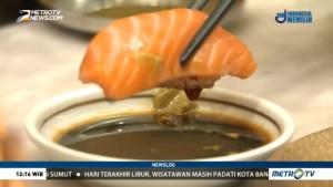 Tips Menyantap Sushi dengan Benar