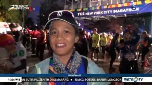Antusiasme Pelari Indonesia di New York Marathon