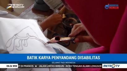 Batik Karya Penyandang Disabilitas