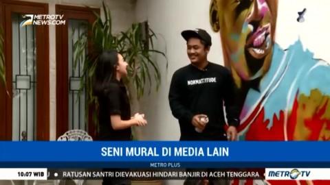 Seni Mural di Media Lain