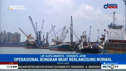Buruh di Pelabuhan Tanjung Perak Tidak Ikut Aksi Mogok Nasional
