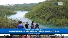 Fenomena Danau Dadakan Hebohkan Warga Gunungkidul