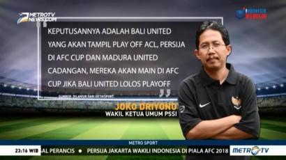 PSSI Pastikan Persija Jakarta Bermain di Piala AFC 2018