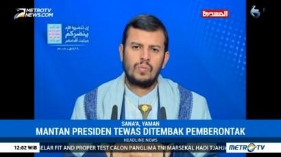 Pemimpin Houthi Sampaikan Sukacita Atas Kematian Mantan Presiden Yaman