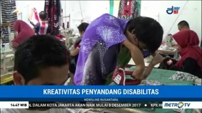 Kaum Difabel Jadi Perajin Batik di Yogyakarta