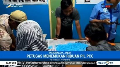 BNN Geledah Rumah Pemilik Pabrik Pil PCC di Semarang