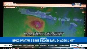 BMKG Pantau 2 Bibit Siklon Baru di Aceh dan NTT