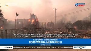 Kebakaran di California Terus Meluas