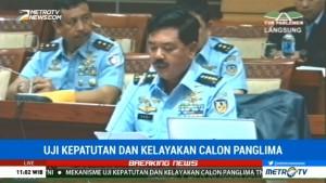 Marsekal Hadi Sampaikan Visi dan Misi sebagai Calon Panglima TNI