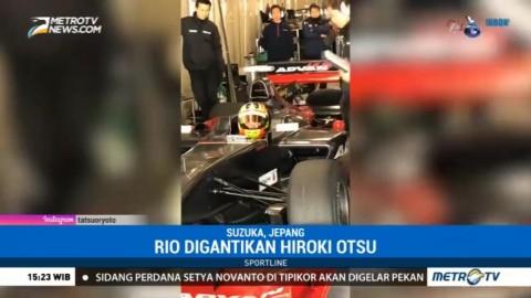 Rio Haryanto Alami Kecelakaan saat Jajal Mobil Super Formula di Jepang