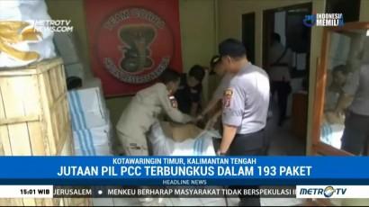 Polres Kotawaringin Timur Sita Jutaan Pil PCC