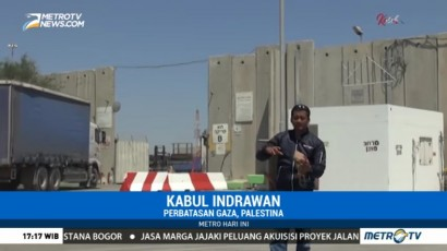 Tembok Tinggi di Perbatasan Israel