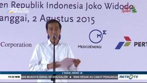 3 Tahun Jokowi-JK: Donggi Senoro Terintegrasi Bangun Negeri (1)
