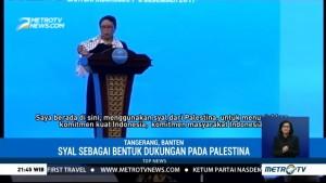 Syal Menlu Retno Didapat dari Warga Gaza