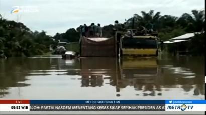 Ketinggian Banjir di Aceh Selatan Capai 3 Meter