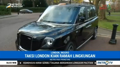 Taksi di London Kian Ramah Lingkungan