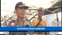Polisi Masih Selidiki Penyebab Kebakaran Pasar Gembrong Lama
