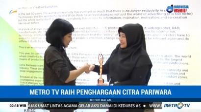 Metro TV Raih Penghargaan Citra Pariwara 2017