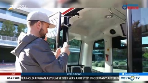 Driverless Buses Take to Some Roads in California