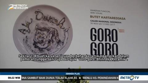 Pameran Seni Bertajuk Goro-goro Bhinneka Keramik