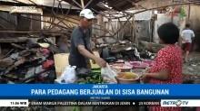 Nasib Pedagang Korban Kebakaran Pasar Gembrong