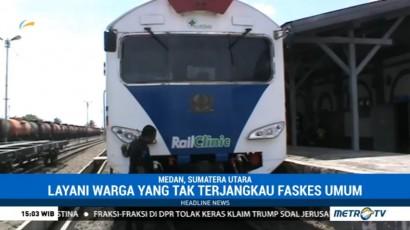 Dua Kereta Kesehatan Tiba di Pelabuhan Belawan
