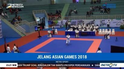 249 Karateka Ikuti Test Event Asian Games 2018