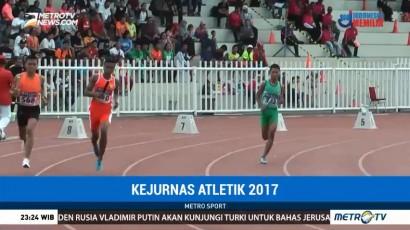 Kejurnas Atletik 2017 Minim Pemecahan Rekor Nasional