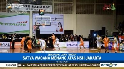 Satya Wacana Menang atas NSH Jakarta