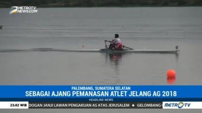 Atlet Dayung Keluhkan Minimnya Toilet di Venue Jakabaring