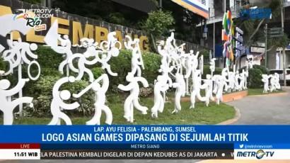 Pernak-Pernik Asian Games Hiasi Kota Palembang