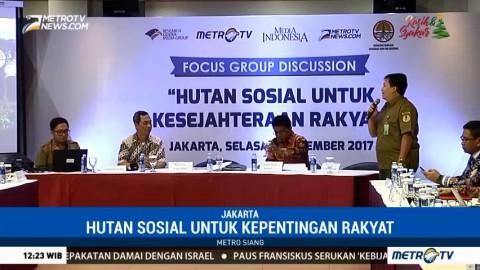Media Group & Kementerian LHK Gelar Diskusi Bahas Hutan untuk Kepentingan Rakyat