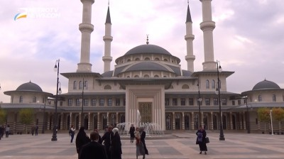 Kompleks Kepresidenan dan Masjid Nasional Bestepe Turki