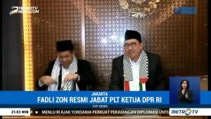 Fadli Zon Resmi Jabat Plt Ketua DPR