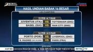 Hasil Undian 16 Besar Liga Champions dan 32 Besar Liga Europa