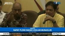 Rapat Pleno Tentukan Munaslub Golkar akan Digelar Rabu Malam