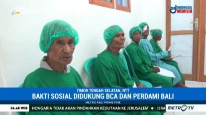 Kick Andy Foundation Bantu Penderita Katarak di Timor Tengah Selatan
