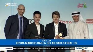 Kevin/Marcus Raih Penghargaan Pebulu Tangkis Putra Terbaik Versi BWF