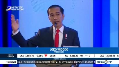 Jokowi Optimis Ekonomi Tetap Tumbuh di Tahun Politik