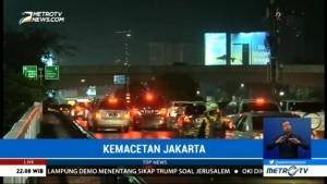 Kemacetan di Kawasan Semanggi Mulai Terurai