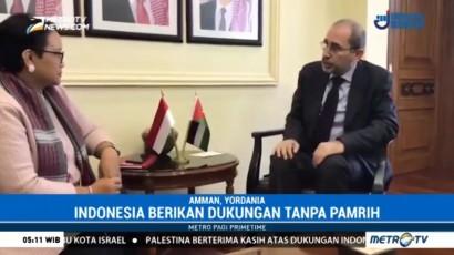 Palestina Apresiasi Dukungan Indonesia