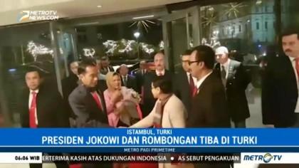 Jokowi Tiba di Turki