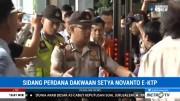 Setya Novanto Hadiri Sidang Perdana Kasus KTP-el