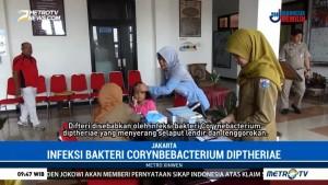 Kemenkes Lakukan Pendataan KLB Difteri