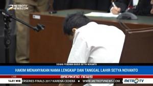 Sidang Dilanjutkan, Setya Novanto Kembali Tidak Menjawab Pertanyaan Hakim