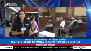 Setya Novanto Menolak Diperiksa Tim Dokter RSPAD