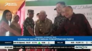 Pabrik Karet Remah Berkapasitas 27 Ribu Ton di Samarinda Resmi Beroperasi