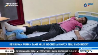 Rumah Sakit Indonesia di Gaza Alami Krisis Medis dan Obat-obatan